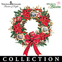 Thomas Kinkade Spirits Of The Season Wreath Collection