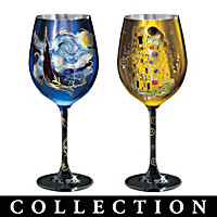 Masters Of Fine Art Wine Glass Collection