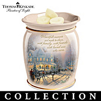 Thomas Kinkade Seasonal Porcelain Aroma Wax Warmers
