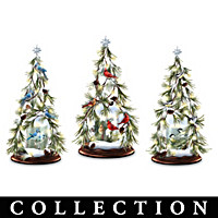 Winter's Cheerful Wonders Tabletop Tree Collection