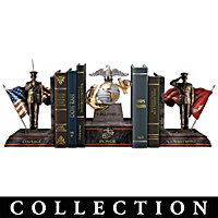 The Few, The Proud, The Marines Bookends Collection
