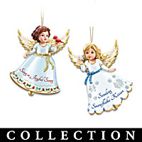Holiday Cheer Angel Ornament Collection