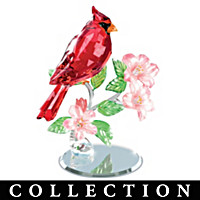 Nature's Sparkling Songbirds Figurine Collection