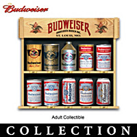 The Ultimate Budweiser Beer Can Tabletop Collection