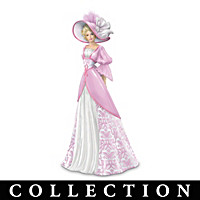 Damask Damsels For Hope Figurine Collection