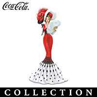 Coca-Cola Victorian Beauties Figurine Collection