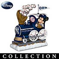 Disney New York Yankees Sculpted Train Figurine Collection