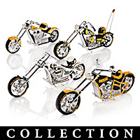 Green Bay Packers Choppers With Team Logos And Graphics