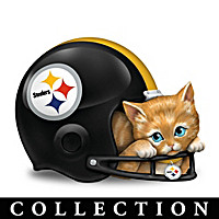 Furry Best Pittsburgh Steelers Fans Figurine Collection