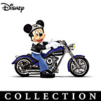 Mickey And The Baltimore Ravens Figurine Collection