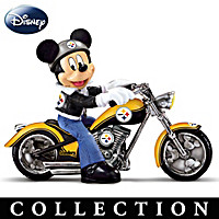 Mickey And The Pittsburgh Steelers Figurine Collection