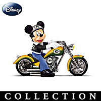 Mickey And The Green Bay Packers Figurine Collection