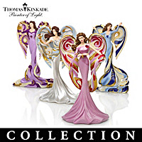Thomas Kinkade Angels Of Splendor Figurine Collection