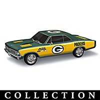 Heartbeat Of The Green Bay Packers Sculpture Collection