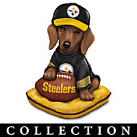 Ruff And Tough Pittsburgh Steelers Figurine Collection