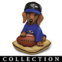 Ruff And Tough Baltimore Ravens Figurine Collection