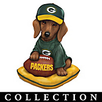 Ruff And Tough Green Bay Packers Figurine Collection