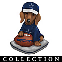 Ruff And Tough Dallas Cowboys Figurine Collection