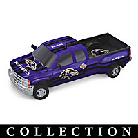 Victory Road Ravens Pick-Up Sculpture Collection