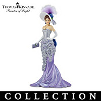 Thomas Kinkade Blooming Beauties Figurine Collection