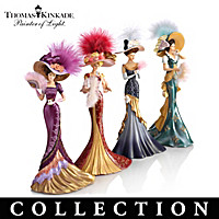 Thomas Kinkade Whispers Of Elegance Figurine Collection