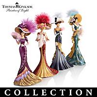 Thomas Kinkade Whispers Of Elegance Figurine Collection