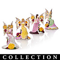 Magic Of The Old Country Rose Figurine Collection