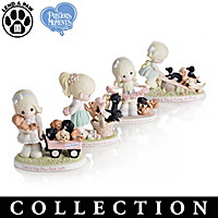 Paw-fect Moments Together Figurine Collection