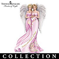 Thomas Kinkade Angelic Sisters Of Hope Figurine Collection