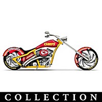 Kansas City Chiefs Motorcycle Figurine Collection