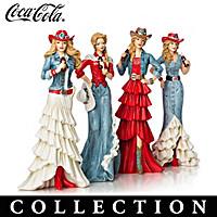 True Blue Refreshment From COCA-COLA Figurine Collection