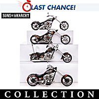 SONS OF ANARCHY: Riding With The Reaper Sculpture Collection