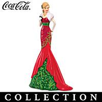 Christmas Elegance Of COCA-COLA Figurine Collection