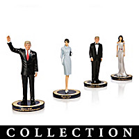 Trump Presidential Figurine Collection