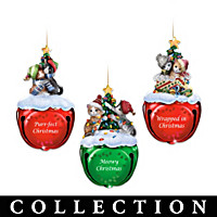 Meowy Christmas Jingle Bells Ornament Collection