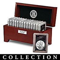 Complete Proof American Eagle Silver Dollar Coin Collection
