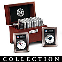 The Complete NFL Silver Dollar Coin Collection
