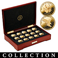 The Big Game of North America Challenge Coin Collection