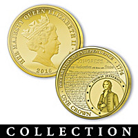Legacy Of Freedom Gold Crown Coin Collection