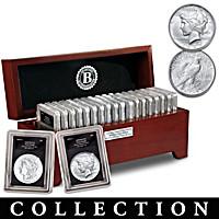 San Francisco Morgan And Peace Silver Dollar Collection