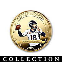 Broncos Super Bowl 50 Champions Dollar Coin Collection