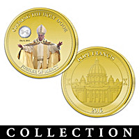 Pope Francis Jubilee Of Mercy Commemorative Coin Collection