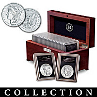 20th Century U.S. Silver Dollar Coin Collection