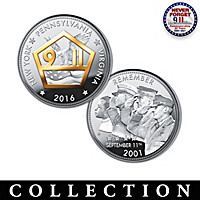 The Heroes Of September 11th Silver Proof Coin Collection