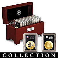 The NFL Legends Gold Dollar Coin Collection