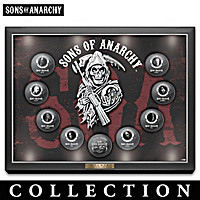 The Official Sons Of Anarchy Coin Collection