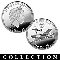The World War II Warbirds Silver Dollar Collection