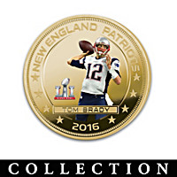 The Tom Brady Super Bowl LI Champion Dollar Coin