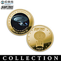 STAR TREK: The Next Generation Gold Proof Coin Collection