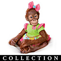 A Day Of Play Monkey Doll Collection